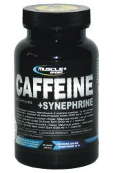 !_zobrazit detail_! - Muscle Sport Caffeine + Synephrine 90 capsules