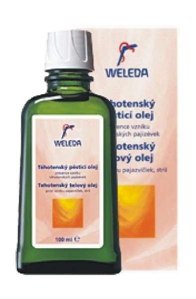 Těhotenský pěsticí olej Weleda 100 ml