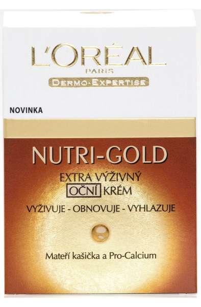 L'Oréal Paris Nutri-Gold Extra Nourishing eye cream 50 ml