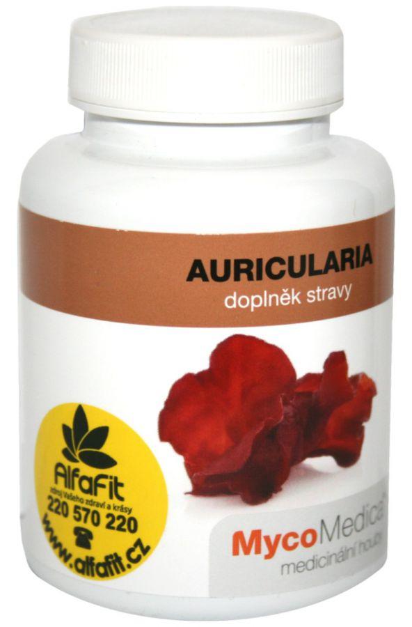 MycoMedica Auricularia - Boltcovitka ucho Jidášovo 90 kapslí