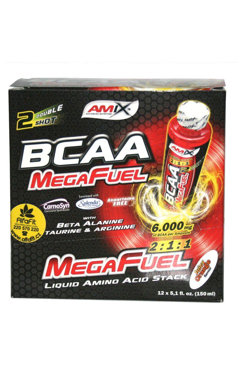 Amix BCAA MegaFuel 6000 - 12 x 150 ml