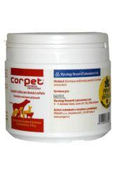 MRL Corpet prášek 250 g - veterinární přípravek s outkovkou pestrou