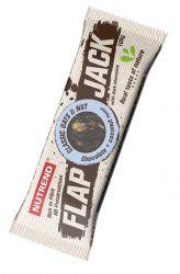 Nutrend FLAPJACK 100 g příchuť  čokoláda & kokos v tmavé čokoládě