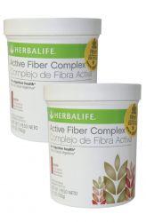 SET 2x Herbalife Active Fiber Complex 192 g ─ apple flavor
