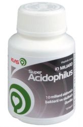 Klas Super Acidophilus KLAS 10 miliard 40 tablets