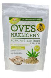 Iswari BIO Gluten–free oat sprouts – flakes 360 g – hemp seed & cinnamon