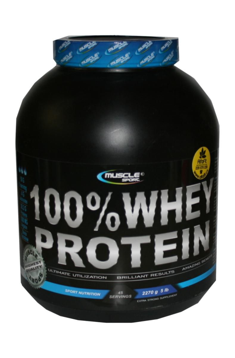 Muscle Sport 100% Whey Protein 2270 g
