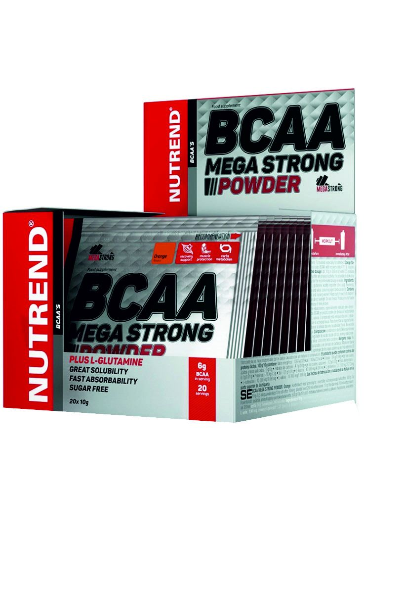 Nutrend BCAA MEGA STRONG POWDER 20x10 g