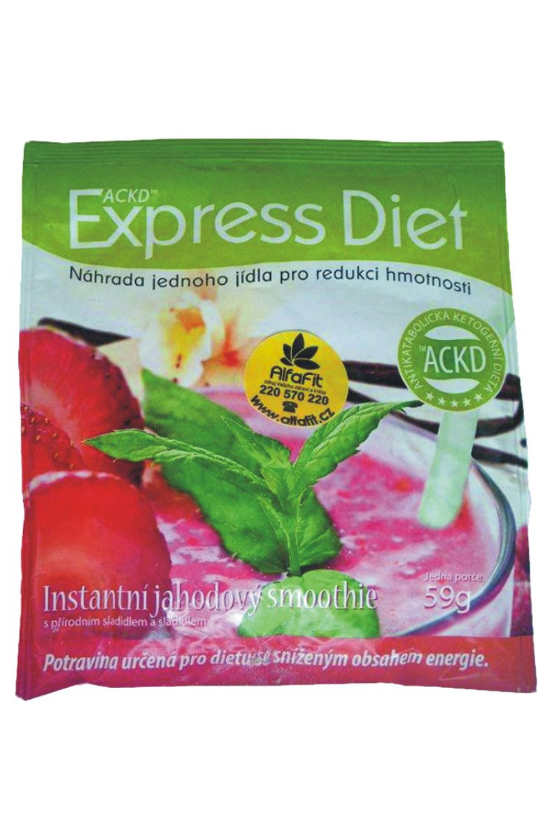 Good Nature Express Diet Jahodový smoothie 59 g