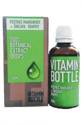 Good Nature Vitamin bottle – Milk thistle & nettle 50 ml