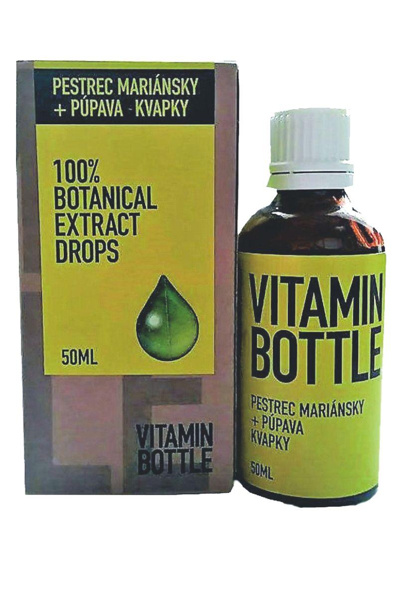 Good Nature Vitamin bottle – Ostropestřec mariánský & pampeliška 50 ml