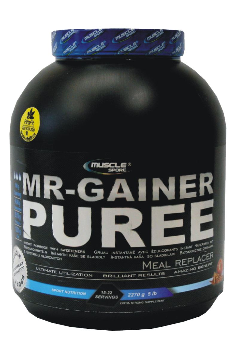 Muscle Sport MR-Gainer Puree 2270 g