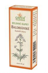 Grešík Valerian Herb Drops 50 ml
