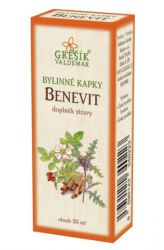 Grešík Benevit Herb Drops 50 ml