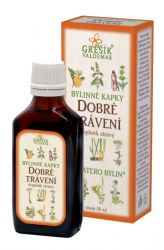Grešík Good Digestion Herb Drops 50 ml