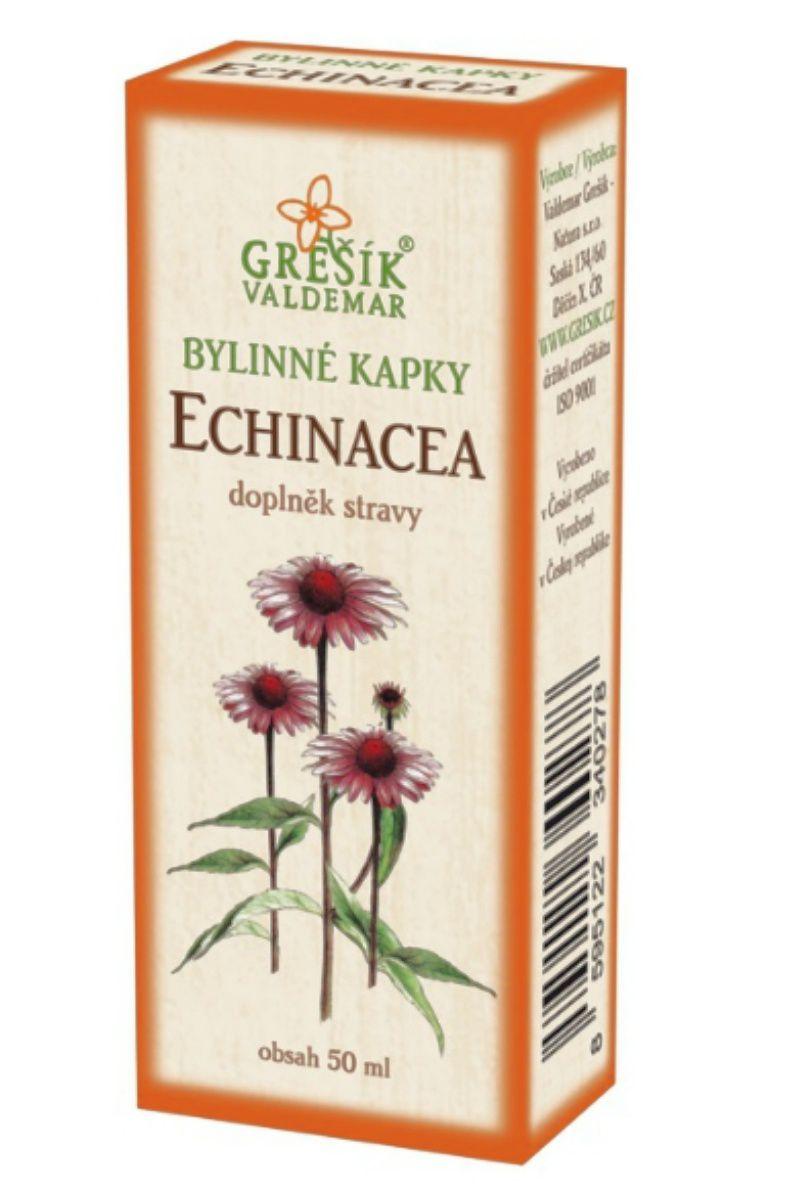 Grešík Echinacea bylinné kapky 50 ml