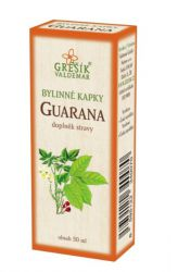 Grešík Guarana Herb Drops 50 ml