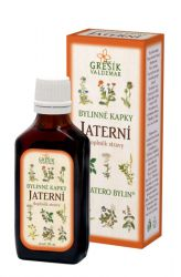 Grešík Hepatic Herb Drops 50 ml