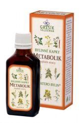 Grešík Metabolik Herb Drops 50 ml