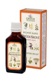 Grešík Bronchial Herb Drops 50 ml