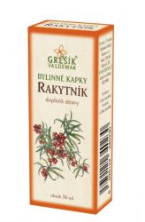 Grešík Sea Buckthorn Herb Drops 50 ml