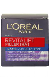 L'Oréal Revitalift Filler Filling the night anti-aging cream 50 ml
