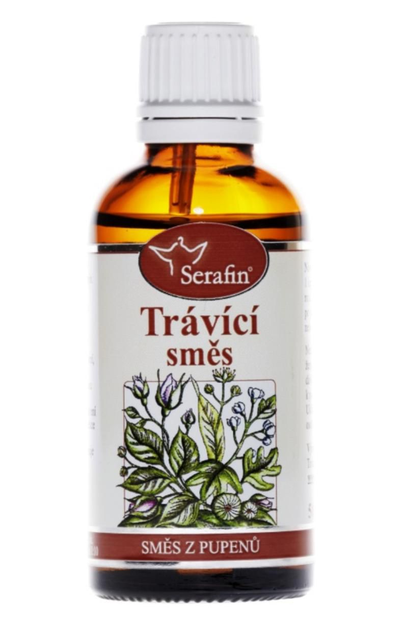 Serafin Digestive ─ Tincture from a mixture of buds 50 ml