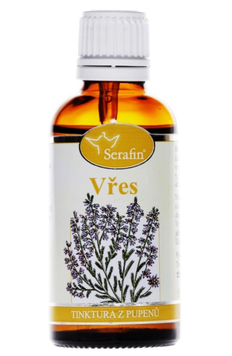 Serafin common heather ─ Tincture of buds 50 ml Gemmotherapy