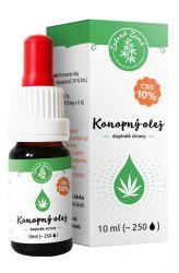 Zelená Země CBD Hemp oil 10% 10 ml