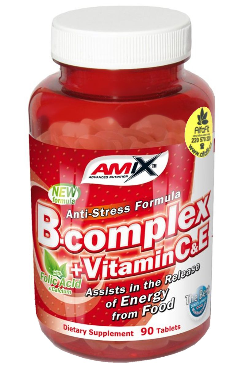 Amix B Complex + C + E