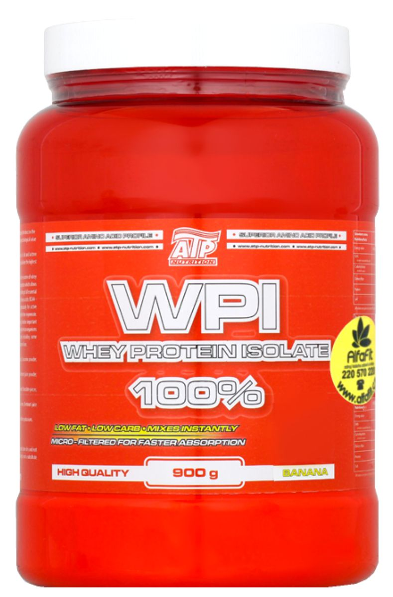 Atp Nutrition Whey Protein Isolate 100 900 G 90 Wpi 500gr