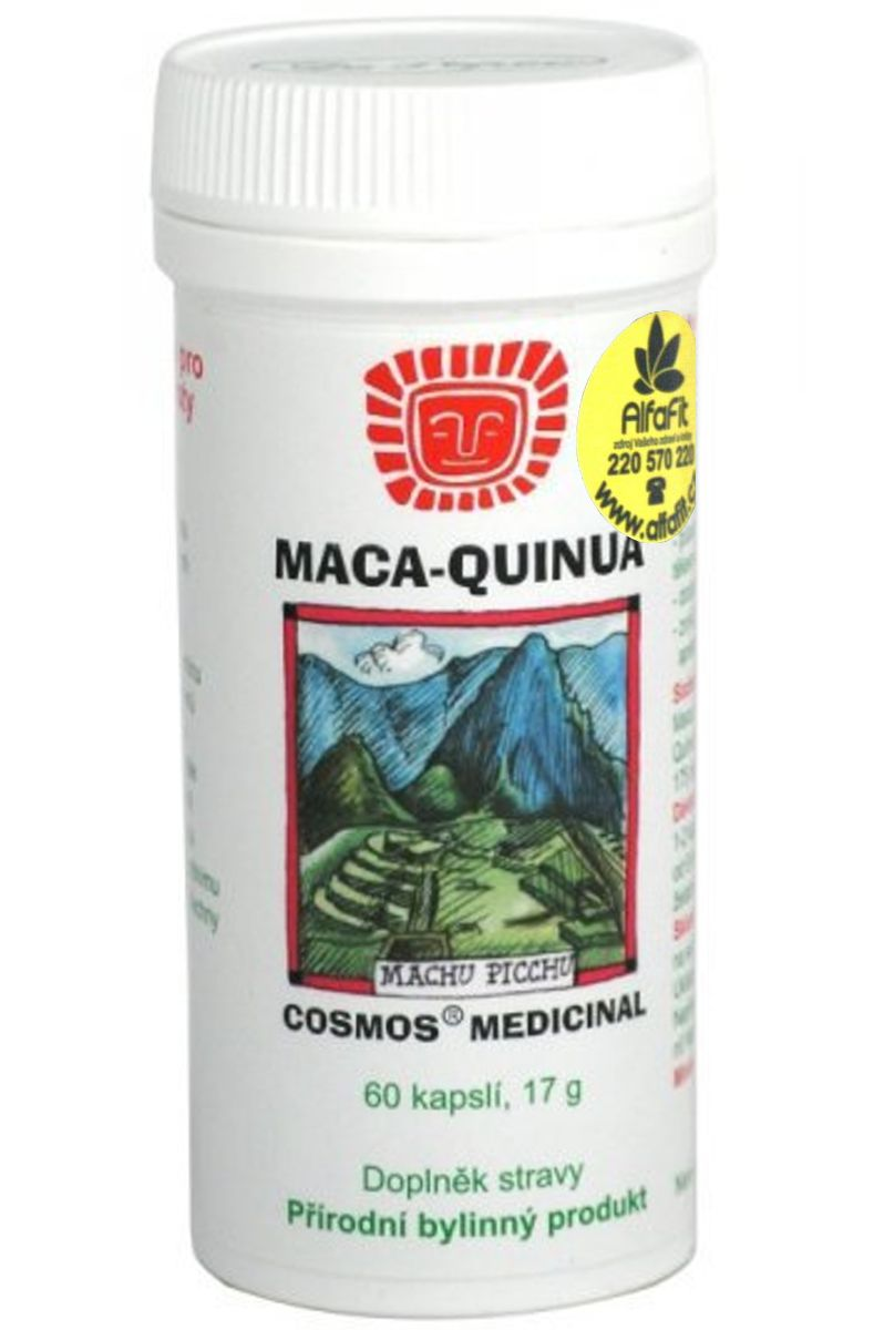 Cosmos Maca quinua 60 kapslí