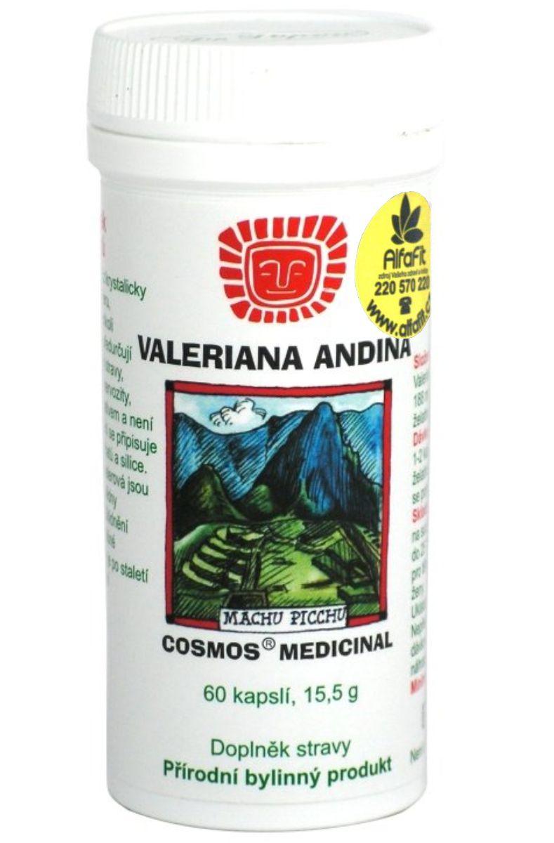Cosmos Valeriana Andina 60 kapslí (Dr. Popov)