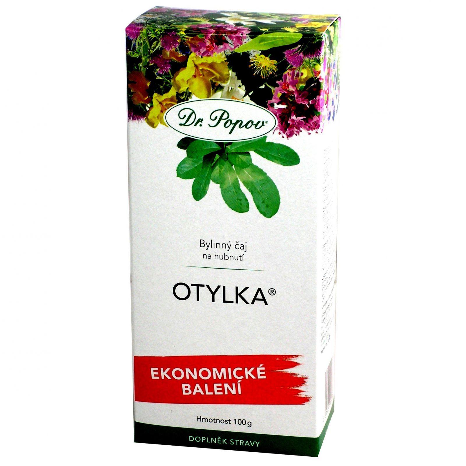 Dr. Popov Redukční bylinný čaj Otylka