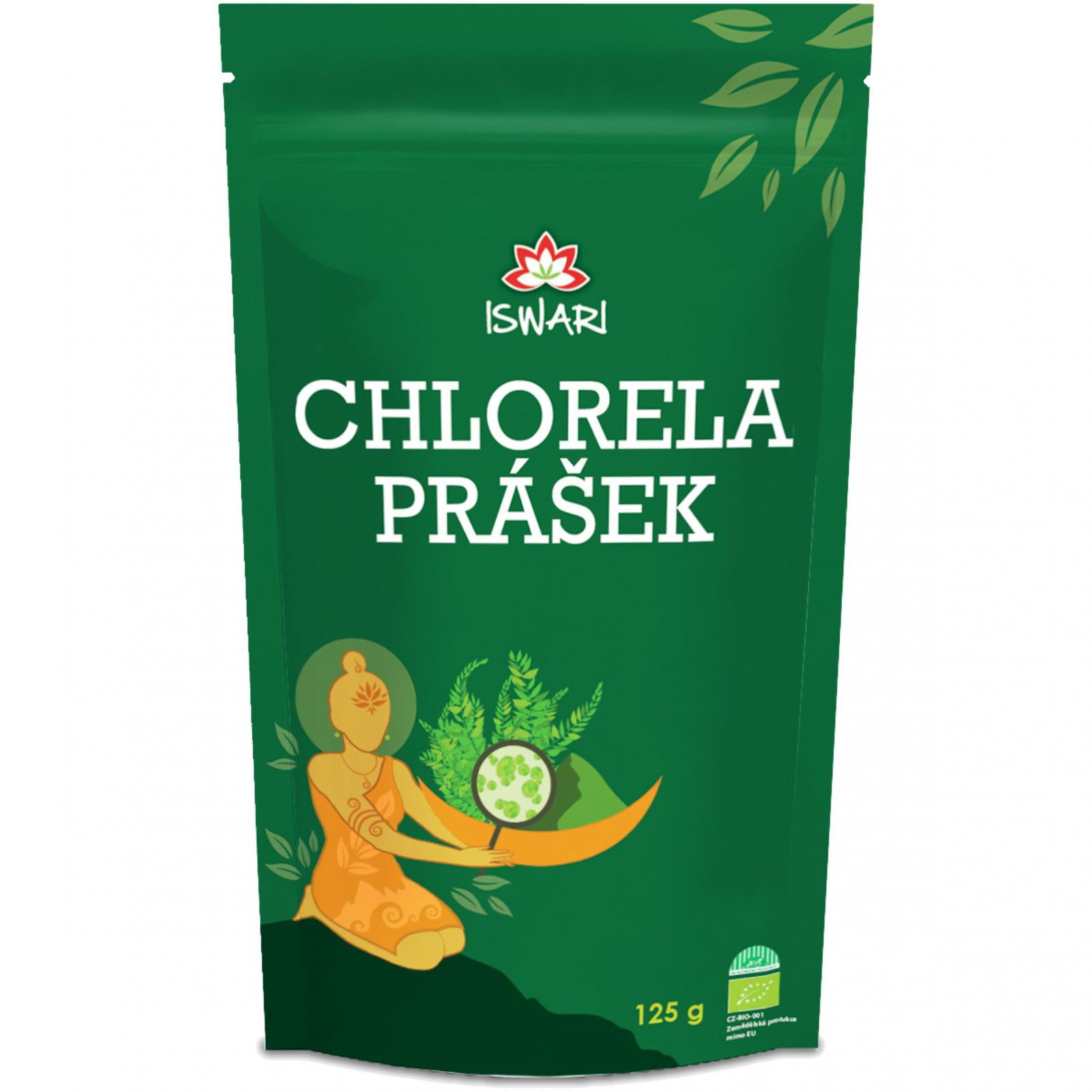 Iswari BIO Chlorella 125 g