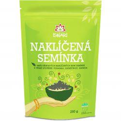 Iswari BIO Sprouted seeds mixture 250 g ─ buckwheat & sunflowers & quinoa