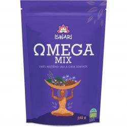 Iswari BIO Omega Mix ground mixture 250 g ─ chia & brown linen