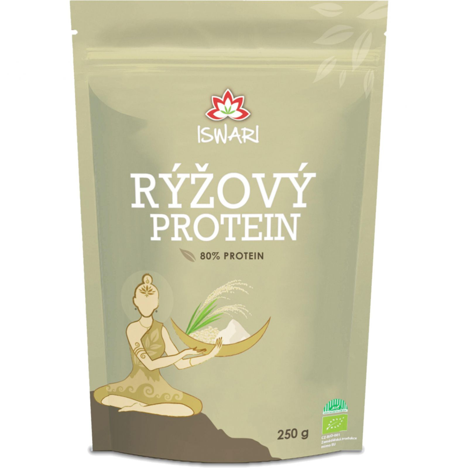 Iswari BIO Rýžový protein 80% – 250 g