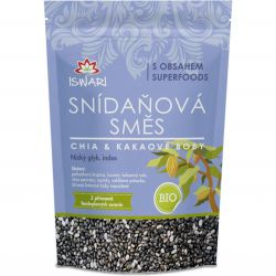 Iswari BIO breakfast mix 300 g – chia & cocoa beans