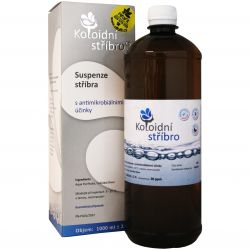 Colloidal silver 20 ppm 1000 ml
