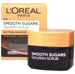 L'Oréal Paris Smooth Sugars Nourish Scrub ─ Soft Nourishing Sugar Scrub 50 ml