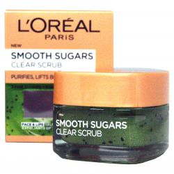L'Oréal Paris Smooth Sugars Clear Scrub ─ gentle sugar peeling 50 ml