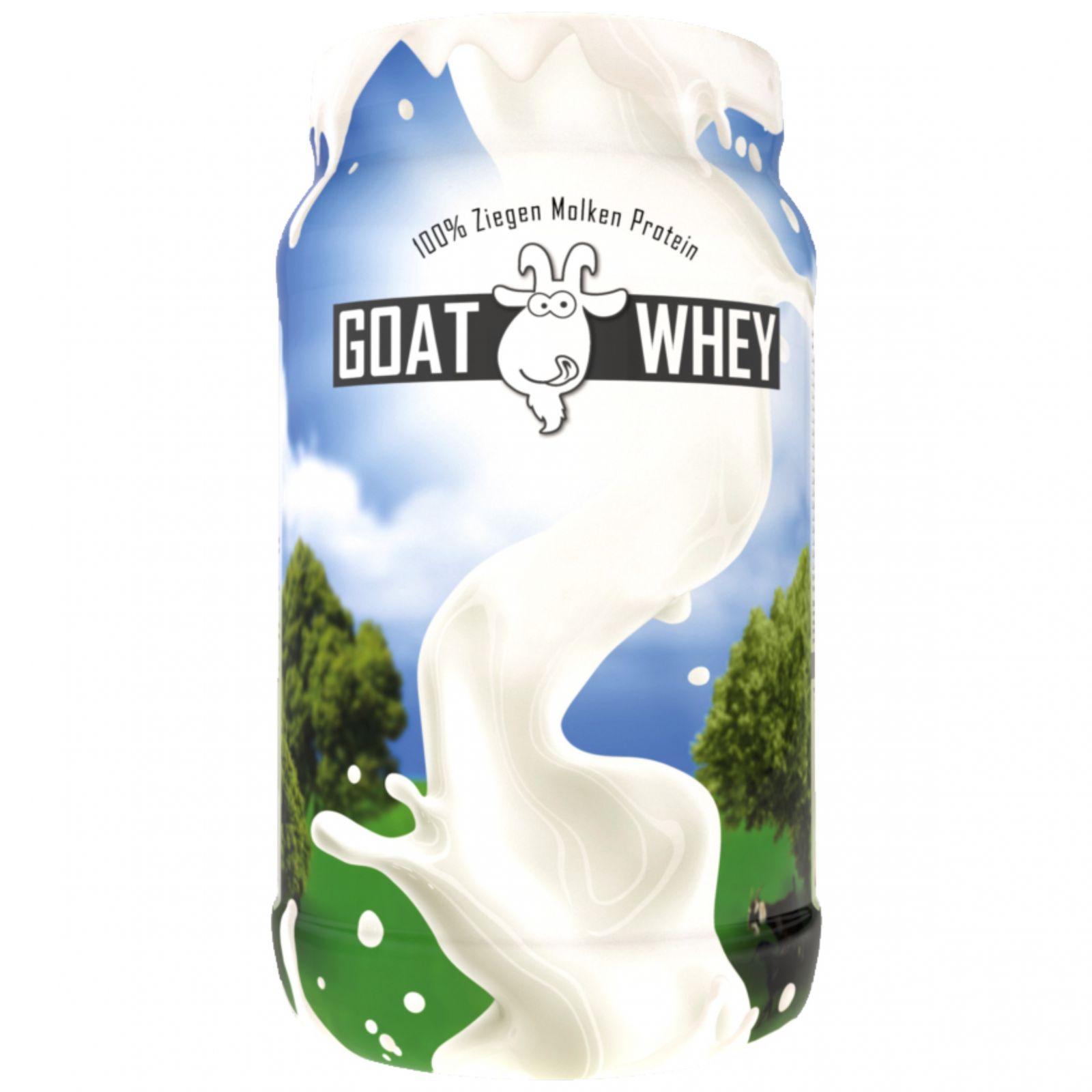LSP Nutrition Goat Whey 600 g - příchuť natural