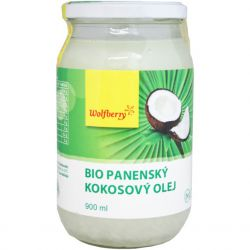 Wolfberry BIO Virgin coconut oil 900 ml