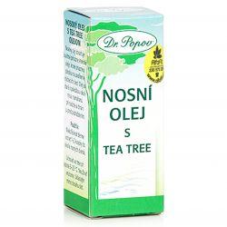 Dr. Popov nosní olej s Tea tree oil 10 ml
