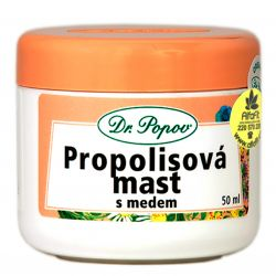 Dr. Popov Propolis ointment with honey 50 ml