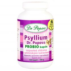 Dr. Popov Psyllium PROBIO 120 capsules