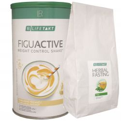 REDUCTION KIT II. - LR LIFETAKT Figu Active cocktail LR 450 g + LR LIFETAKT Figu Active Herbal Fasting Tea 250 g