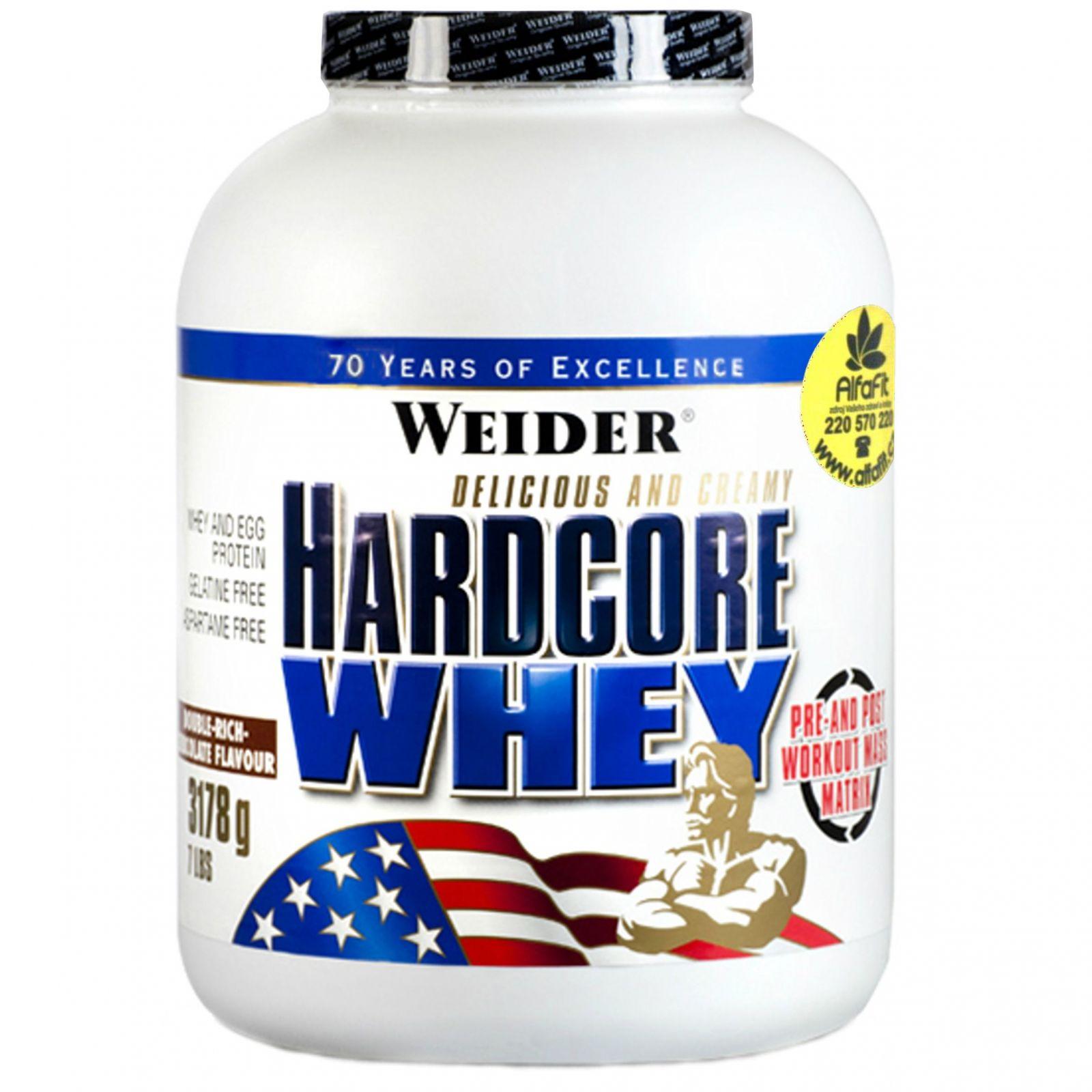 Weider Hardcore Whey Protein 3200 g
