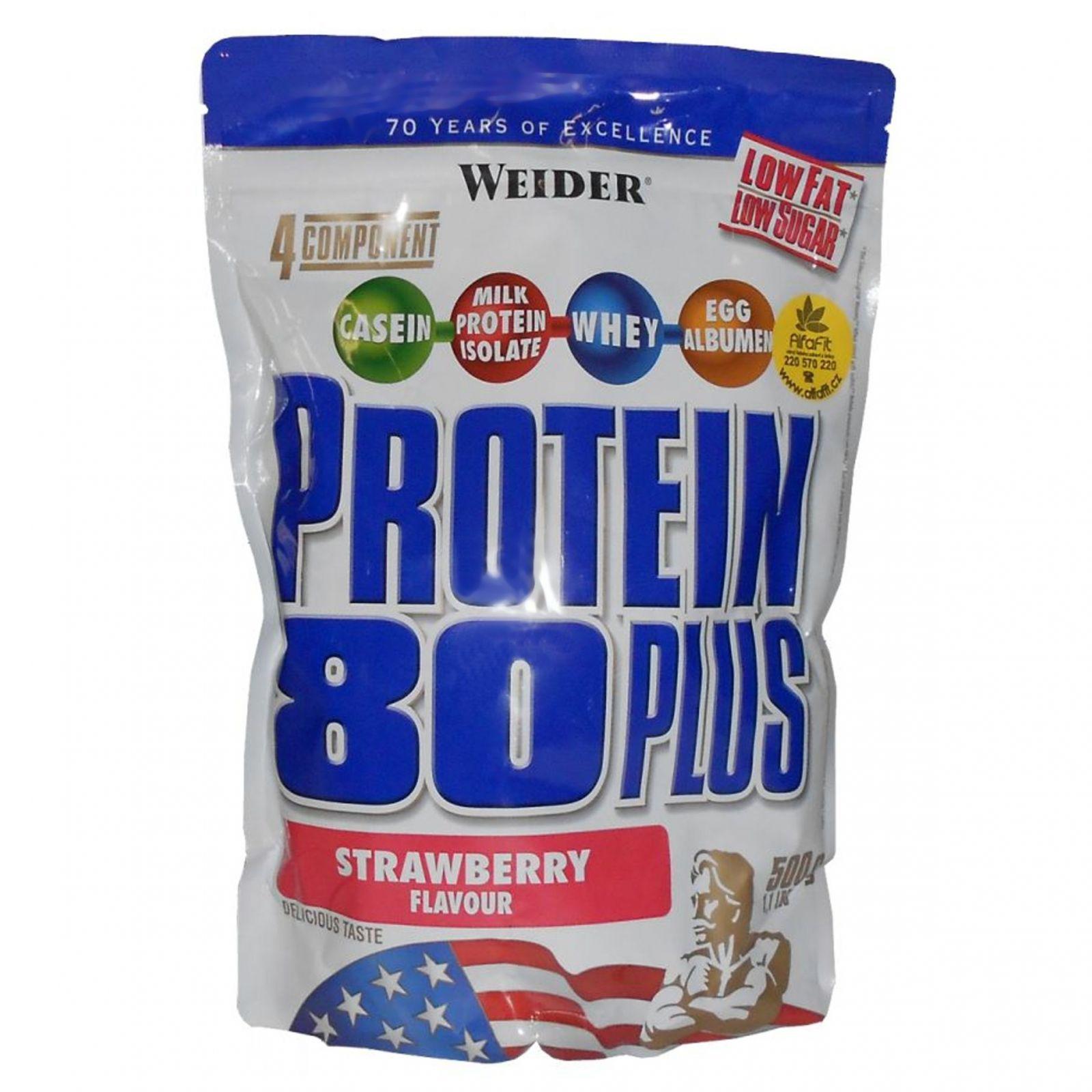 weider protein 80 plus 500 g delicious creamy. Black Bedroom Furniture Sets. Home Design Ideas